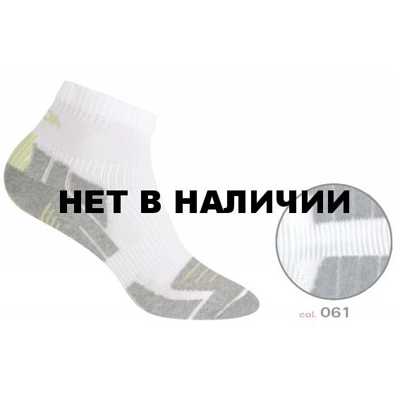 Носки ACCAPI SOCKS RUNNING DRY black/grey (черный/серый)