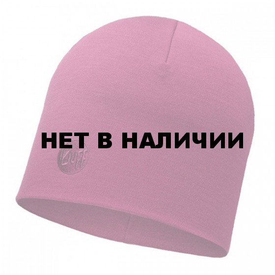 Шапка BUFF 2016-17 WOOL BUFF MERINO WOOL THERMAL HAT BUFF SOLID PINK CERISSE