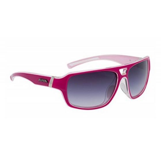 Очки солнцезащитные ALPINA 2015-16 SPORT STYLE YUKO pink-white transparent
