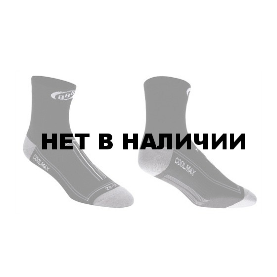 Носки BBB TechnoFeet long black white (BSO-02)