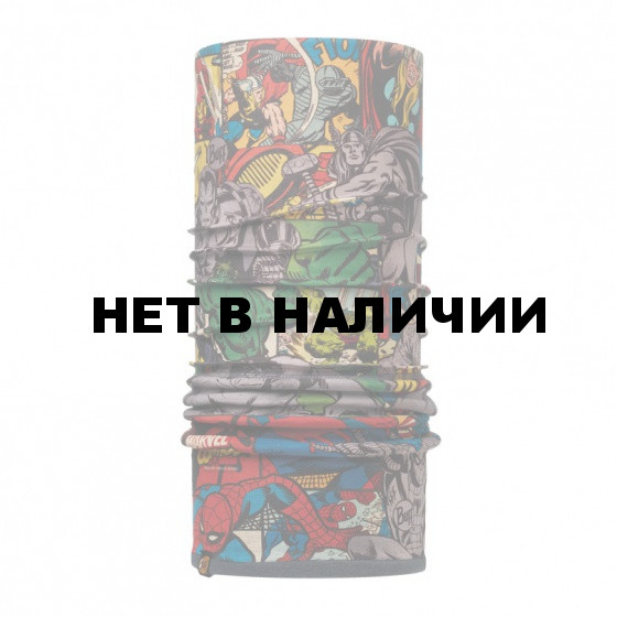 Бандана BUFF 2016-17 SUPERHEROES POLAR BUFF HEORES MULTI / GREY