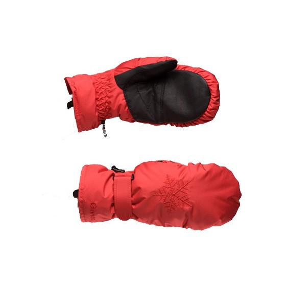 Варежки GLANCE Crystal Mitten (red) красный