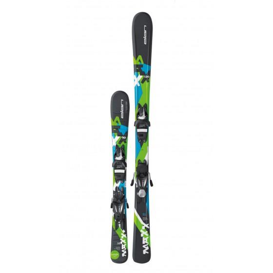 Горные лыжи с креплениями Elan 2016-17 MAXX QT EL 7.5 (130-150)