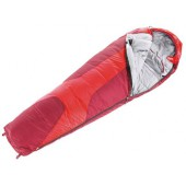 Спальник Deuter 2016-17 Sleeping Bags Orbit 0 (прав) fire-cranberry