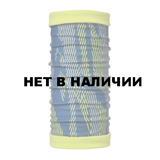 Бандана BUFF POLAR BUFFREVERSIBLE BLUE LINES / LIME