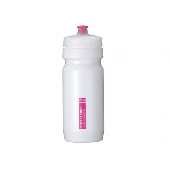 Фляга вело BBB 550ml. CompTank white/magenta (BWB-01)