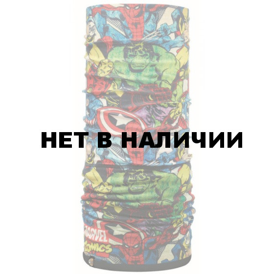 Бандана BUFF Polar Buff SUPERHEROES POLAR BUFF FIGHTERS / BLACK