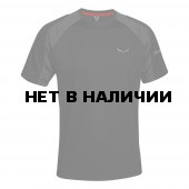 Футболка для активного отдыха Salewa 2016 PUEZ (SPORTY B) DRY M S/S TEE black out/0730