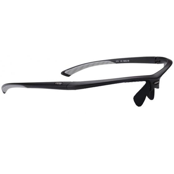 Оправа для велоочков BBB frame Winner matt black, white temple rubber (BSG-39)