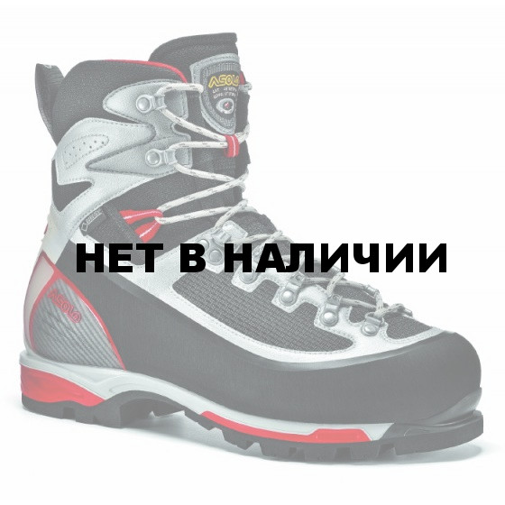 Ботинки для альпинизма Asolo Alpine 6b+ Gv MM Black-Red