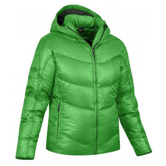 Куртка туристическая Salewa HIKING & TREKKING ALPINDONNA COLD FIGHTER DWN W JKT eucalyptus
