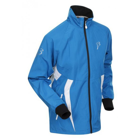 Куртка беговая Bjorn Daehlie Jacket CHARGER Women Methyl Blue/Snow White (синий/белый)