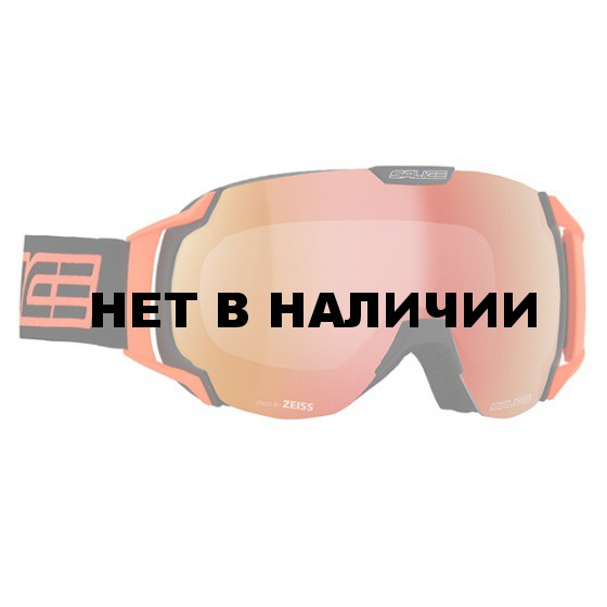 Очки горнолыжные Salice 619SONAR BLACK-ORANGE/SONAR