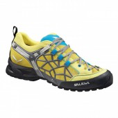 Треккинговые кроссовки Salewa 2015 Tech Approach MS WILDFIRE PRO Yellow/Smoke /