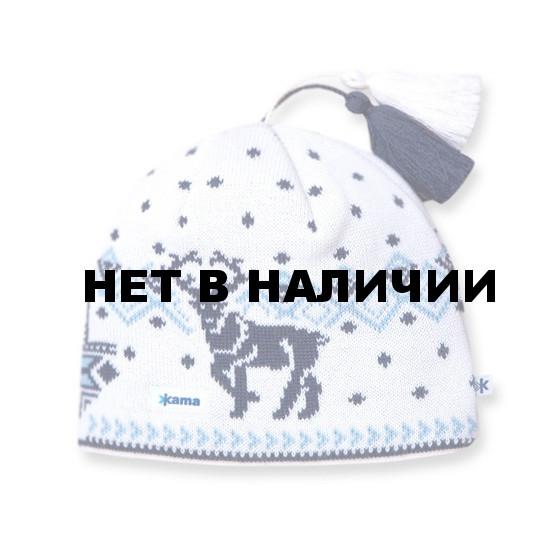 Шапки Kama AW12 (off-white) белый