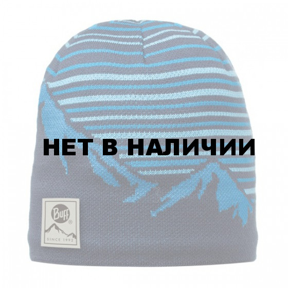 Шапка BUFF 2016-17 ACTIVE COLLECTION KNITTED & POLAR HAT BUFF® LAKI BLUE