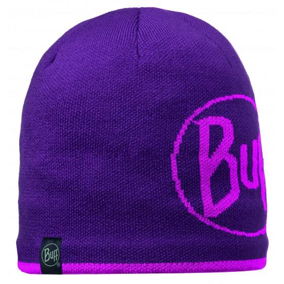 Шапка BUFF 2015-16 KNITTED HATS BUFF LOGO PLUM