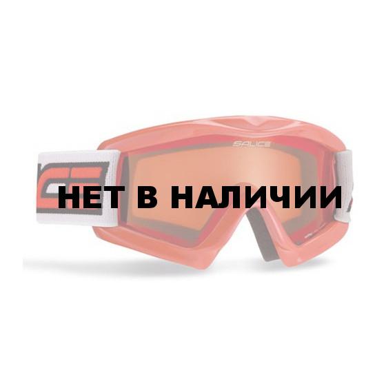 Очки горнолыжные Salice 897A RED / ORANGE