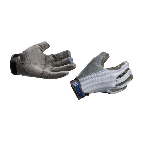 Перчатки рыболовные BUFF Pro Series Fighting Work Gloves Grey Scale (серая чешуя)