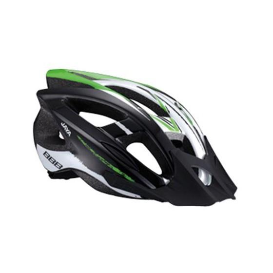 Летний шлем BBB Jaya black green (BHE-28)