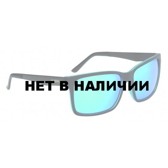 Очки солнцезащитные ALPINA SPORT STYLE DON HUGO black matt-blue