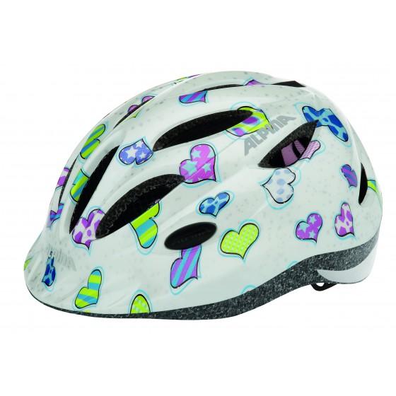 Летний шлем ALPINA JUNIOR / KIDS Gamma 2.0 hearts
