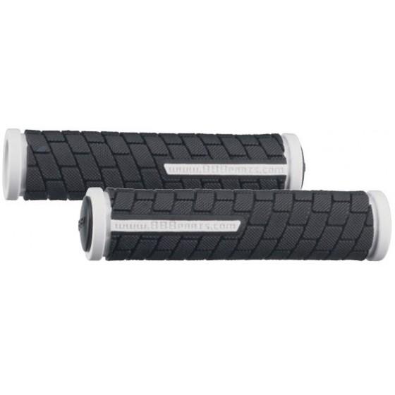 Грипсы BBB DualGrip 102mm black/white (BHG-07)