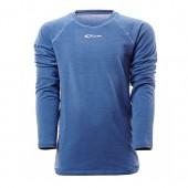 Футболка с длинным рукавомом ACCAPI TECNOSOFT PLUS EVO LONG SL.T-SHIRT JR blue (синий)
