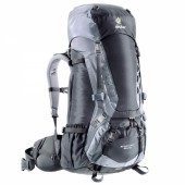 Рюкзак Deuter 2016-17 Aircontact 45 + 10 granite-black