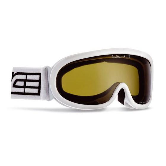 Очки горнолыжные Salice 990DA WHITE/GOLDGREEN