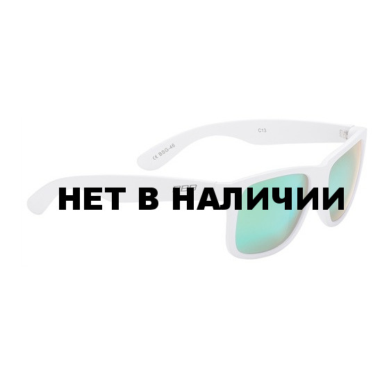 Очки солнцезащитные BBB Street PZ PC MLC green polarised lenses matt white (BSG-46)