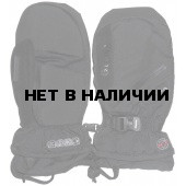 Варежки GLANCE Fighter Mitten (black/turquise) черный