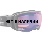 Очки горнолыжные Alpina ESTETICA QMM anthracite_QMM blue sph S2