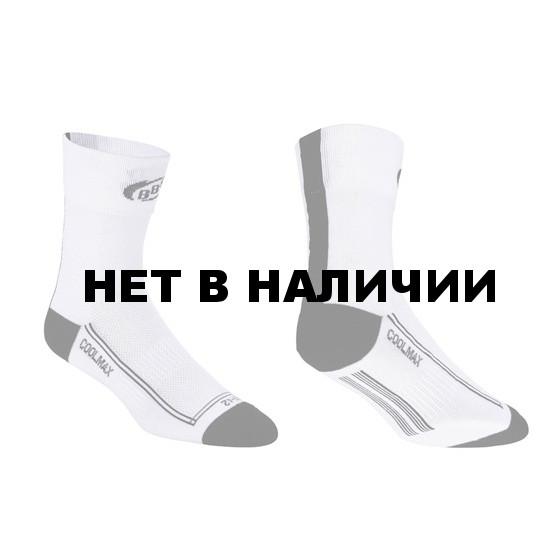 Носки BBB FoldFeet white black (BSO-03)
