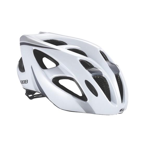Летний шлем BBB Kite white gray (BHE-33)