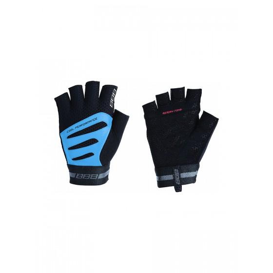Перчатки велосипедные BBB Equipe black/blue (BBW-48)
