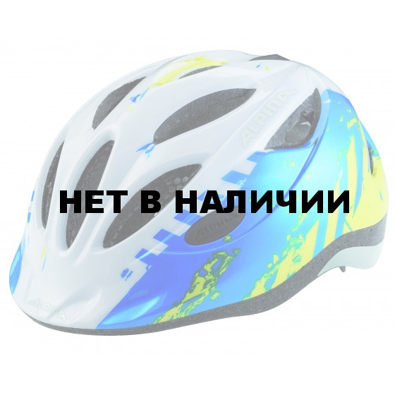Летний шлем ALPINA JUNIOR / KIDS Gamma 2.0 blue-lime