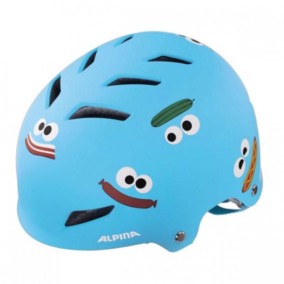 Летний шлем ALPINA 2016 JUNIOR / KIDS Alpina Park jr. blue fastfood