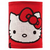 Шарф BUFF NECKWARMER BUFF Knitted&Polar Fleece HELLO KITTY CHILD SCARLETKITTY/GREY VIGORE