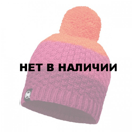 Шапка BUFF 2016-17 KNITTED & POLAR HAT BUFF® TIZZY PINK CERISSE-PINK CERISSE-Standard