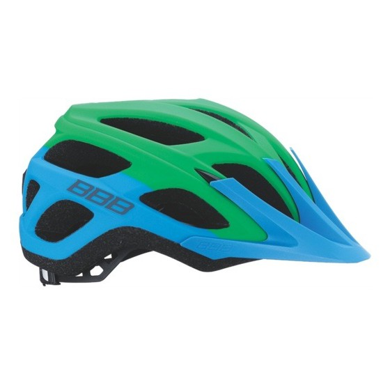Летний шлем BBB Varallo matt blue/green (BHE-67)