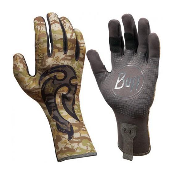 Перчатки рыболовные BUFF MXS Gloves BUFF Licenses MSX GLOVES BUFF BS MAHORI HOOK M/L