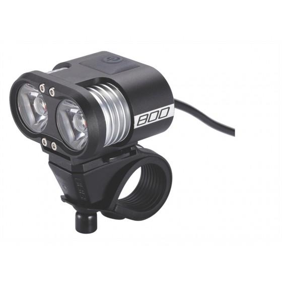 Фонарь передний BBB Scope 800 lumen LED black (BLS-67)