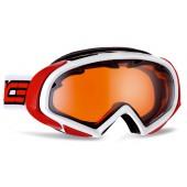 Очки горнолыжные Salice 606DAFV WHITE-RED/ORANGE