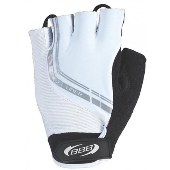 Перчатки велосипедные BBB Gelliner white (BBW-35)