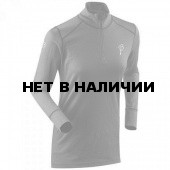 Футболка с длинным рукавом Bjorn Daehlie UNDERWEAR Half Zip WARM LS Women Shark/Periscope
