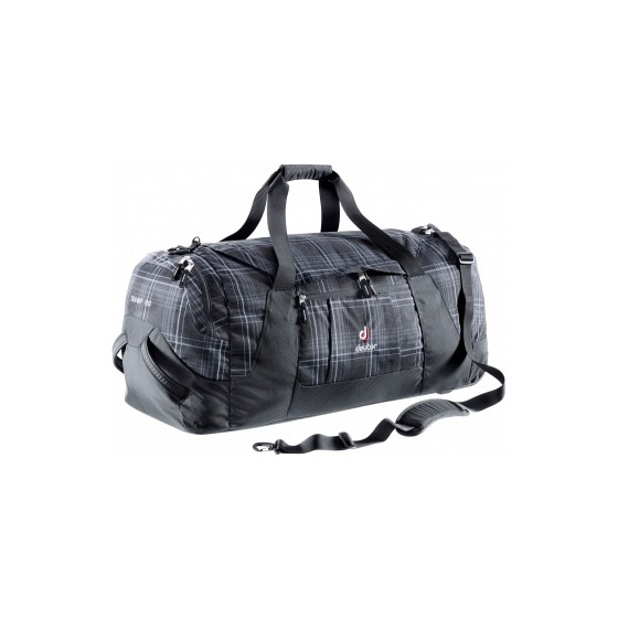 Сумка на колесах Deuter Travel Tramp 110 black check