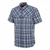 Рубашка для активного отдыха Salewa 2016 FANES HIKE DRY M S/S SRT M bkol/papy/wash/dkd