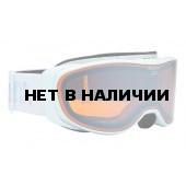 Очки горнолыжные Alpina BONFIRE 2.0 MM pearlwhite_HM Orange S2