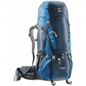 Рюкзак Deuter 2016-17 Aircontact 65 + 10 midnight-ocean